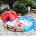 203*165*73 Do Bebê Piscina Bola Marinha Espessamento Piscina Inflável Da Água Parque Piscinas Piscine Zwembad