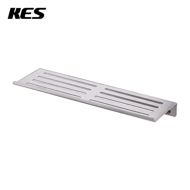 KES Bathroom Shelf Stainless Steel Shower Shelf Basket Caddy RUSTPROOF  Square Modern Style Wall Mounted Brushed