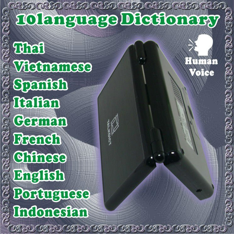 Electronic Dictionary To Honorable Spanish Talk Language The Pronounces 12-Countries