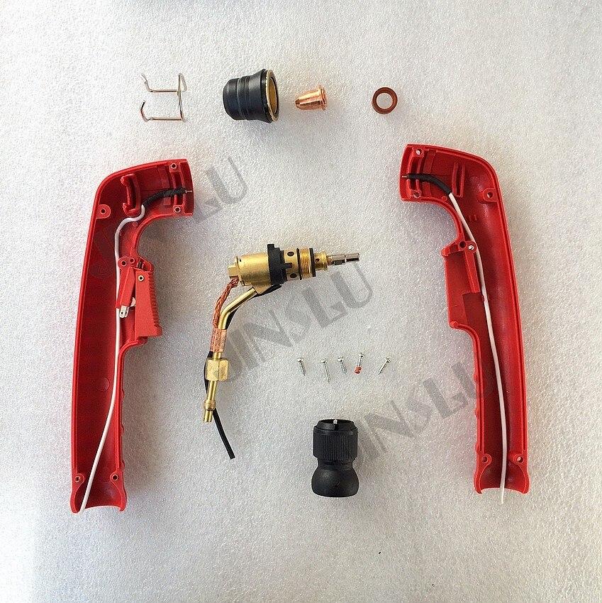 Free shipping Trafimet S45 handle Plasma Cutting torch head 1PCS