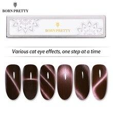 BORN PRETTY Cat Eye магнитная палочка 3D эффект сильная пластина инструменты для дизайна ногтей изогнутая линия полоса для Гель-лак для использования с магнитом лак