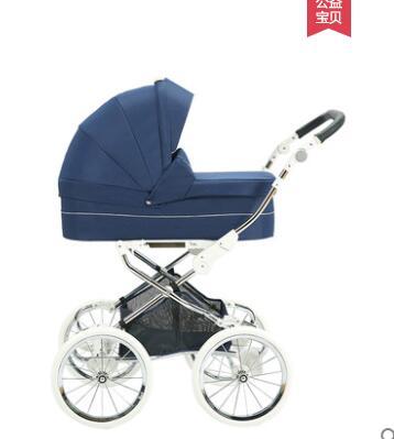 Isabell poussette bébé rétro grande roue trotteur neige 2 en 1 landau Royal chariot