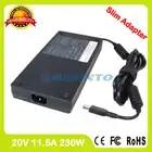 Тонкий адаптер переменного тока 20 V 11.5A 230 Вт ноутбук зарядное устройство для lenovo ThinkPad P70 P71 P72 Мобильная рабочая станция PA 1231 12LA ADL230NLC3A
