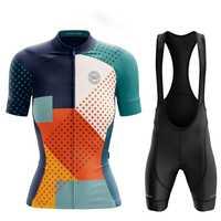 Vittoria Chimp Squadra di ciclismo donne del vestito Maglia manica Corta con salopette Respirabile Gel Pad shorts equitazione kit Tuta da ciclista
