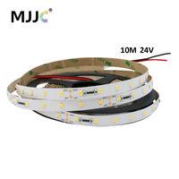 Constant Current LED Strip Light 10M 24V DC SMD 2835 LED Ribbon Decoration Flexible Tape LED Stripe Light Warm Cool White