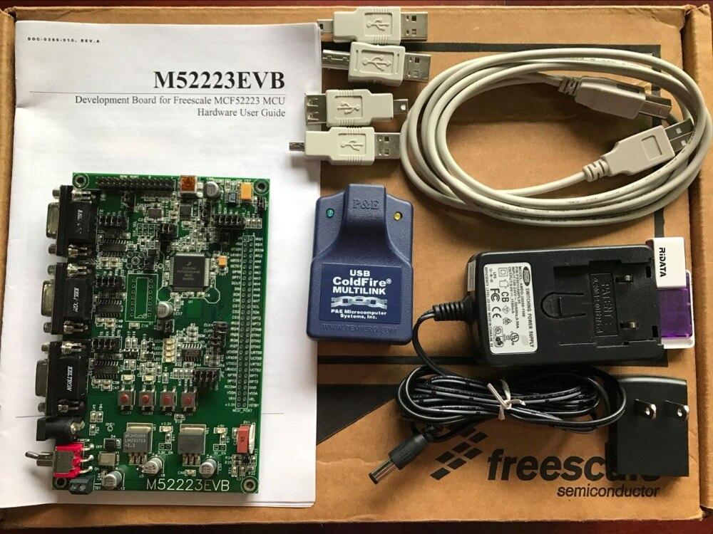 FREESCALE MCF52223 Evaluation Development Suite M52223EVB Coldfire V2 Development Board