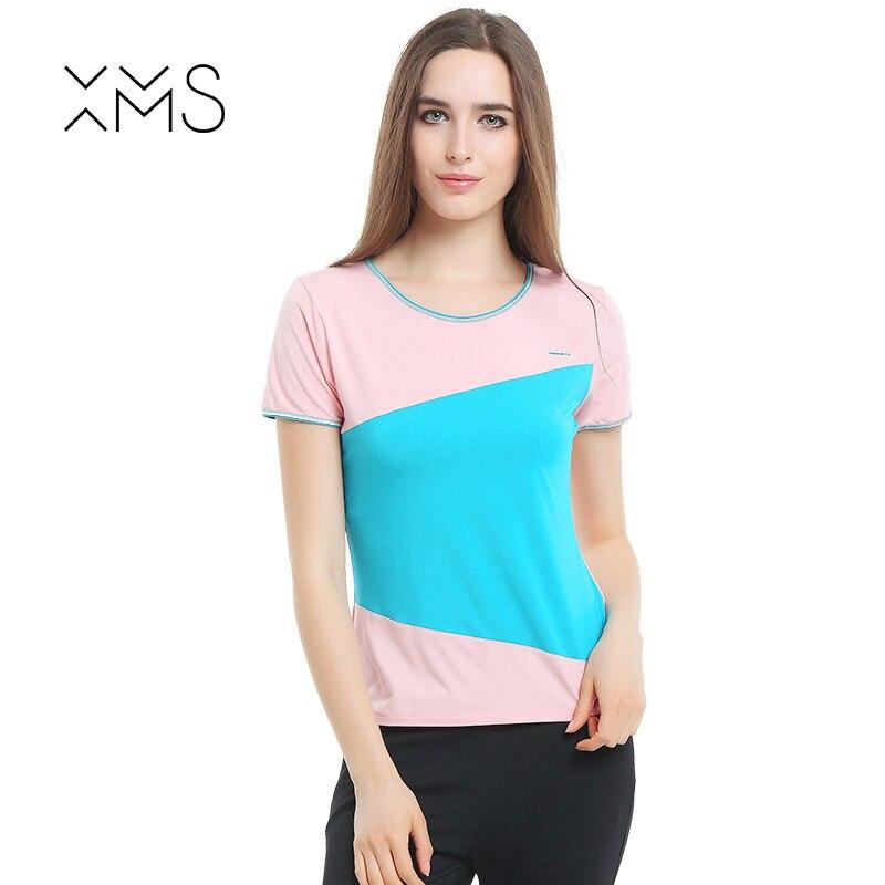 XMS Mode Alle Spiel O Hals Kurzarm Schlaf Sommer Neuheiten S-3xl Plus Size Bodenbildung Lose Europäischen Stil Homewear