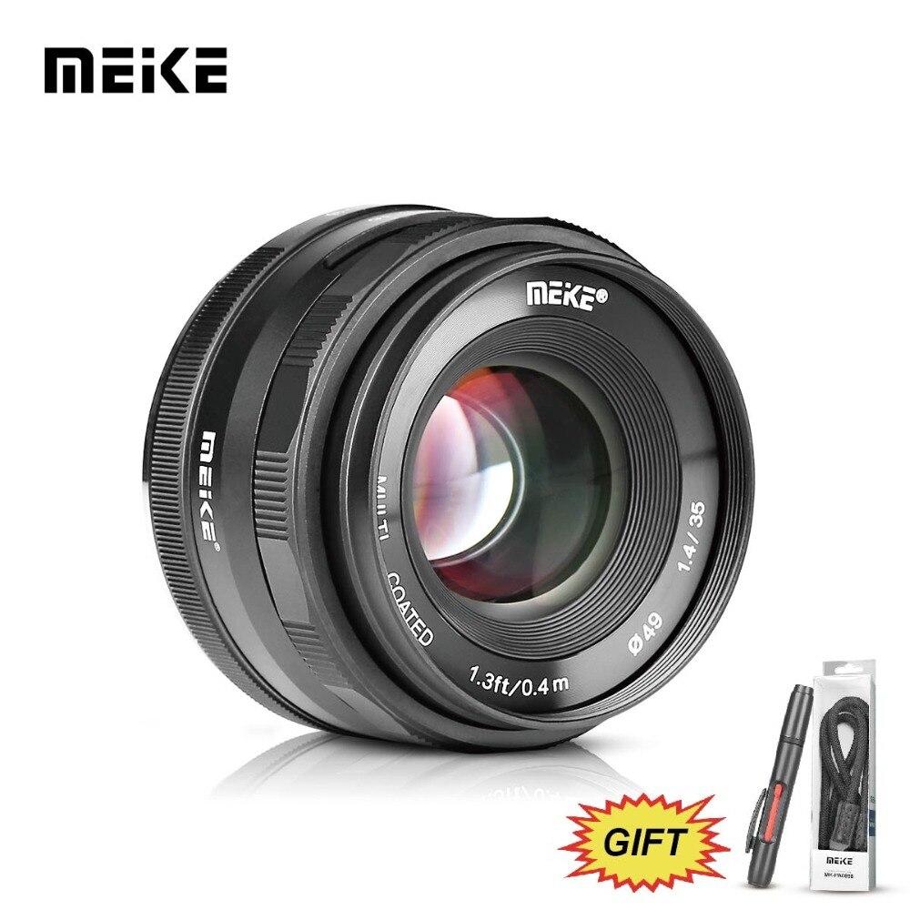 US $98 99 10% OFF|Meike MK 35 1 4 35mm f1 4 Large Aperture Manual Focus  lens APS C for Fujifilm XT100/XT3/XE2/XE2s/XE3/XE1/X30/X70/XT2/XA1/XPro1-in