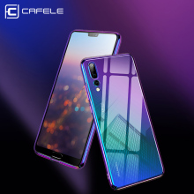 CAFELE Originality Case For iPhone 7 6s cases luxury Aurora Gradient Color Transparent Hard PC Plus Cover