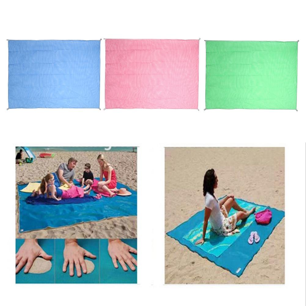 Beach Towels Magic Sand Free Mat Beach Carpet Camping Travel Mat Cushion Outdoor Picnic Mattress Sand