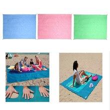 Пляжные полотенца магия песок бесплатно мат пляж ковер Отдых Путешествия Мат Подушка Открытый Пикник матрас песок бесплатно коврики семьи 1.5×2 м