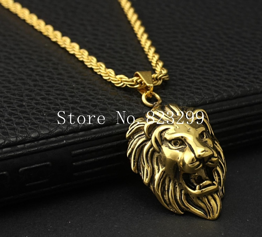 men's lion pendant - 1000×906