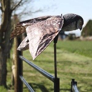 Image 4 - Натуральная поддельная сова, приманка, смочок, птица, вредители с движущимися крыльями, Реалистичная пугающая птица, крыса, мыши, грызуны