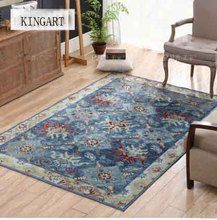 Kingart Hand Wash Decorative Bedroom Thick Carpet Thick Floor Mat Bedroom Rug And Blanket For Kid Room and Living Room