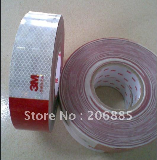 938D 3M Original car use Reflective tape light film 5CM*50YARD red and white/car body use938D 3M Original car use Reflective tape light film 5CM*50YARD red and white/car body use