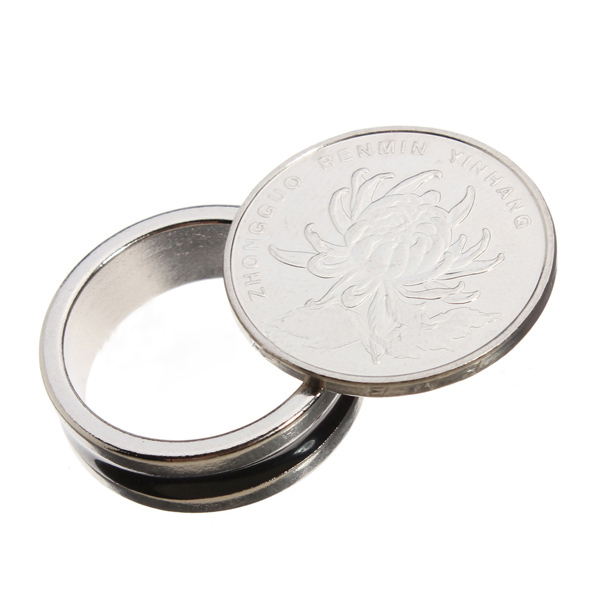 Magical Magic Tricks Pro Ring PK Strong Magnetic Mythical Decor Size 19MM