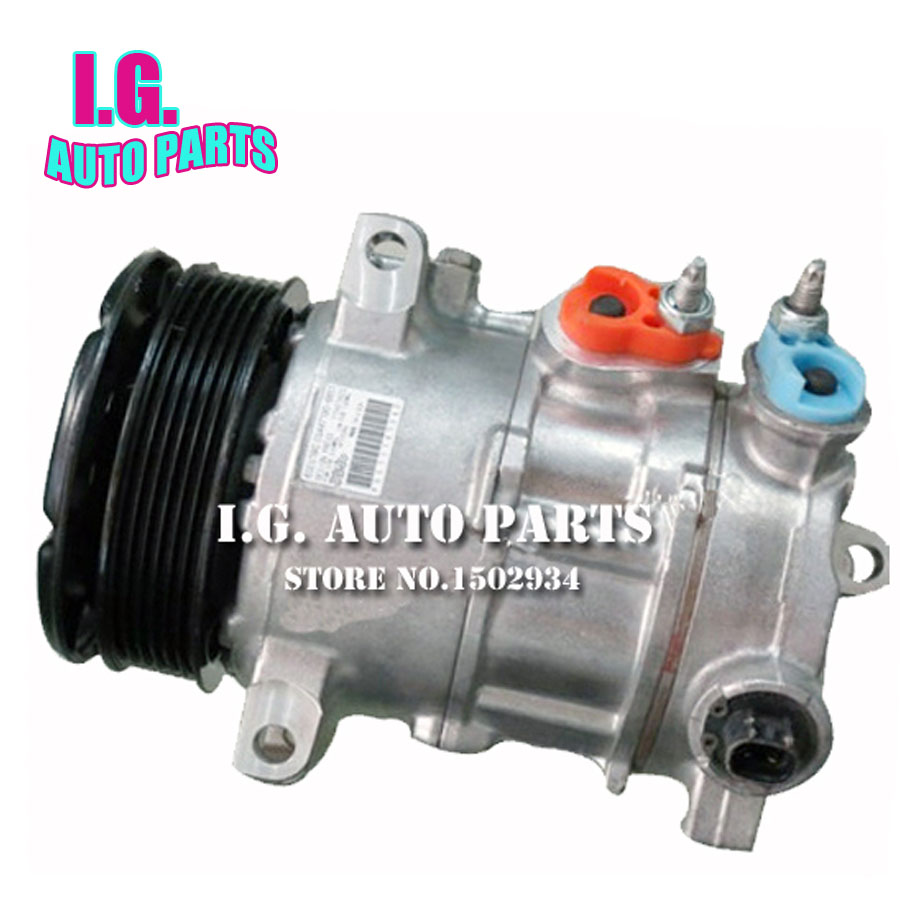 NEW COMPLETE AC COMPRESSOR WITH CLUTCH FOR CAR DODGE AVENGER FOR CAR CHRYSLER SERBING