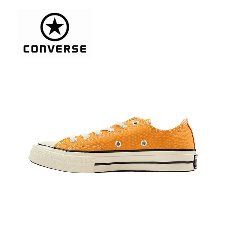 Converse All Star 70S Skateboarding Shoes Original New Arrival Classic Unisex Canvas Low Top Anti-Slippery Sneaksers Comfortable new converse chuck taylor all star ii low men women s sneakers canvas shoes classic pure color skateboarding shoes 150149c