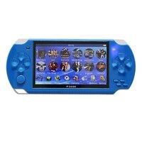 4,3 дюймов портативная игровая консоль 8 Гб портативная видеоигра Встроенный 10000 Бесплатные классические игры Поддержка Mp3/4 US Plug