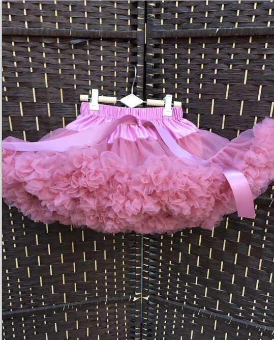 14addf9dae ... Baby Pettiskirt Toddler Pettiskirt Newborn tutu girls dusty rose color  petti puffy skirt