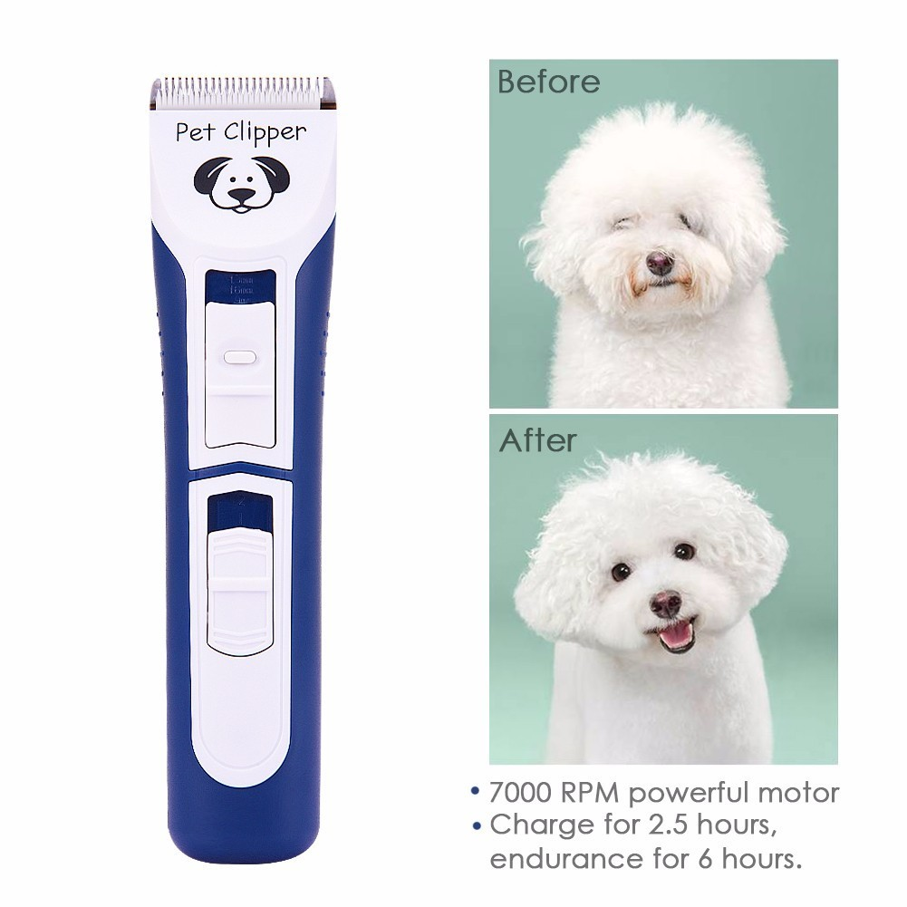 2018 Lithium Battery Electric Clippers For Medium And Large Sized Dogs Pets Dog Trimmer Grooming Haircut Machine Professional