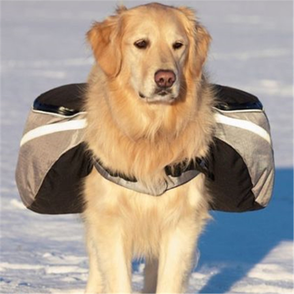 New Pack Dog Bag Saddle Backpack Medium And Large Big Dog
