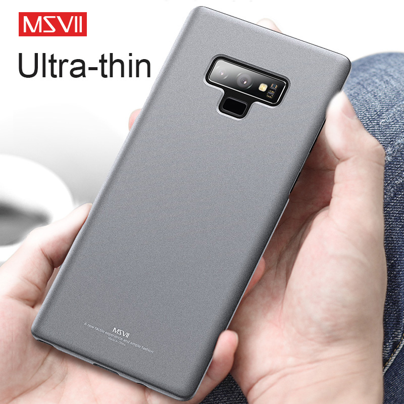 Msvii Ultra-slim Matte Case for Samsung Galaxy Note 9 Cover Luxury Mobile Phone Cases for Samsung Galaxy S7 S8 S9 Note 8 Coque