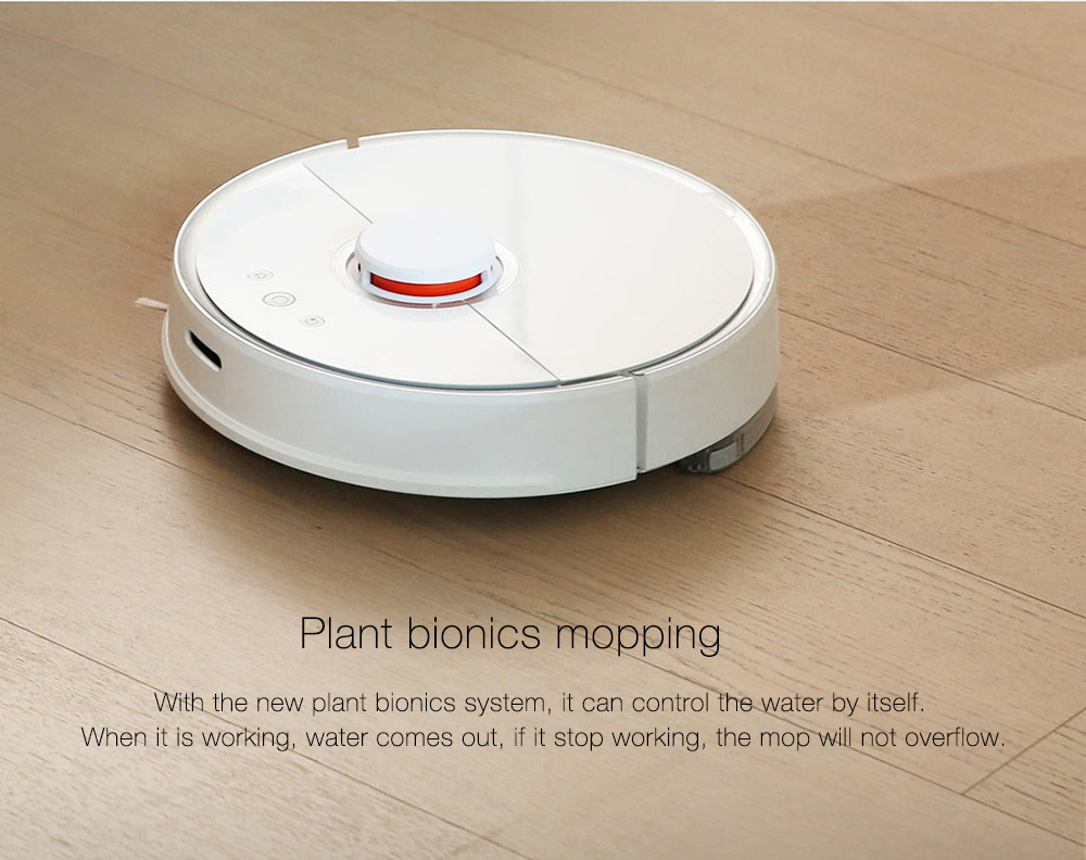 INTERNATIONAL VERSION XIAOMI MIJIA ROBOROCK VACUUM CLEANER 2 AUTOMATIC AREA CLEANING 2000PA SUCTION 2 IN 1 SWEEPING MOPPING FUNCTION 256393 4
