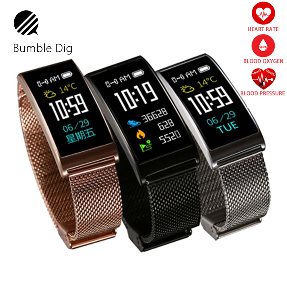 X3 Smart Bracelet Color Touch IP68 Waterproof Swimming Smart Watch Heart Rate Monitor Bluetooth For Android