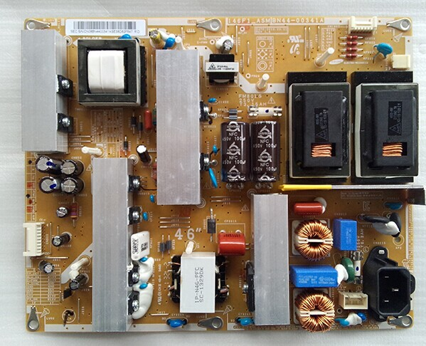 LA46C350F1R 550J1F 530F1R Power board I46F1_ASM BN44-00341A is used used for board power board la46c530f1r la46c350f1r bn44 00341a i46f1 asm tested working