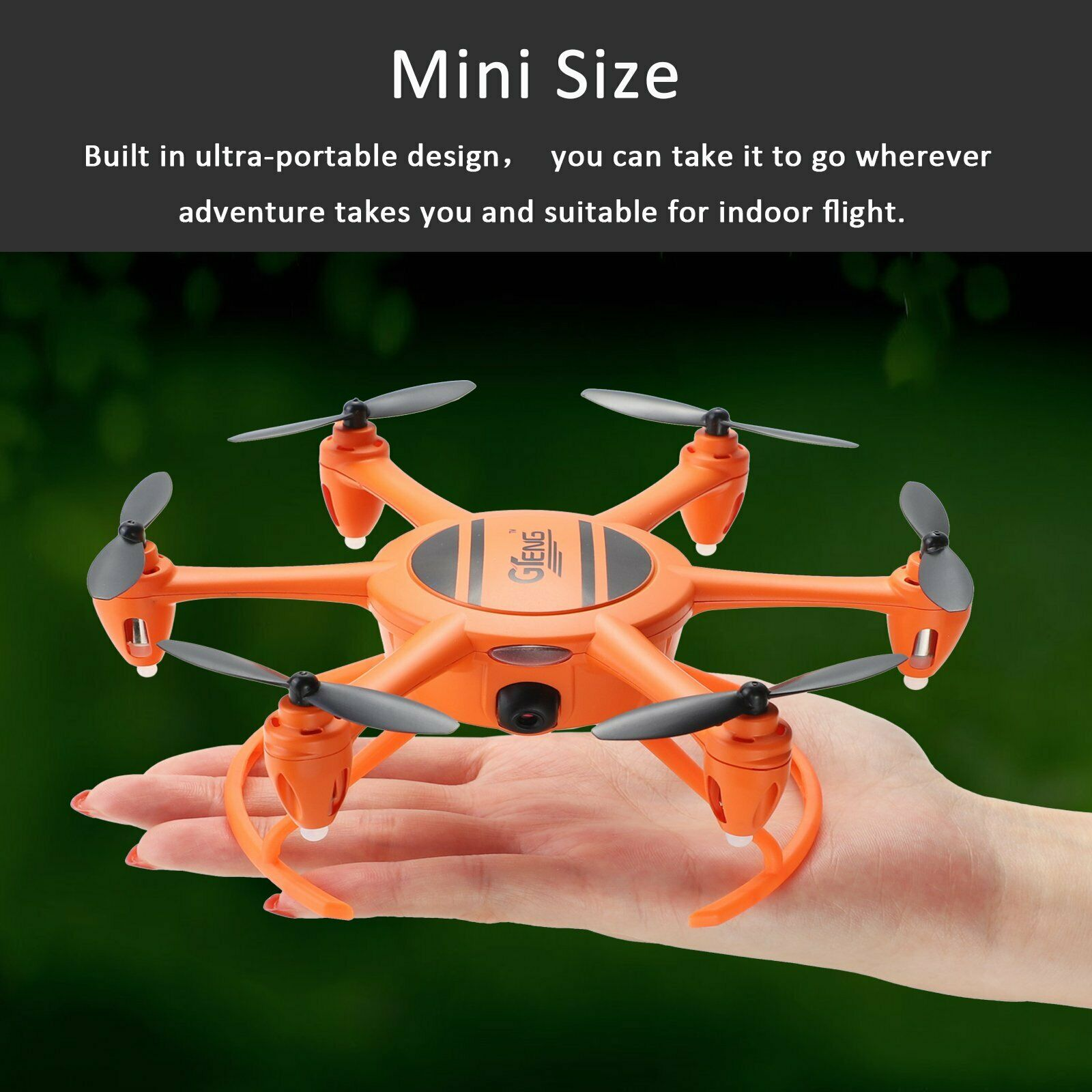 Gteng 2.4G 4CH 6 Axis Gyro Hovering RC Quadcopter with HD WIFI Camera Drone FPV quadcopter|RC Helicopters| |  - title=