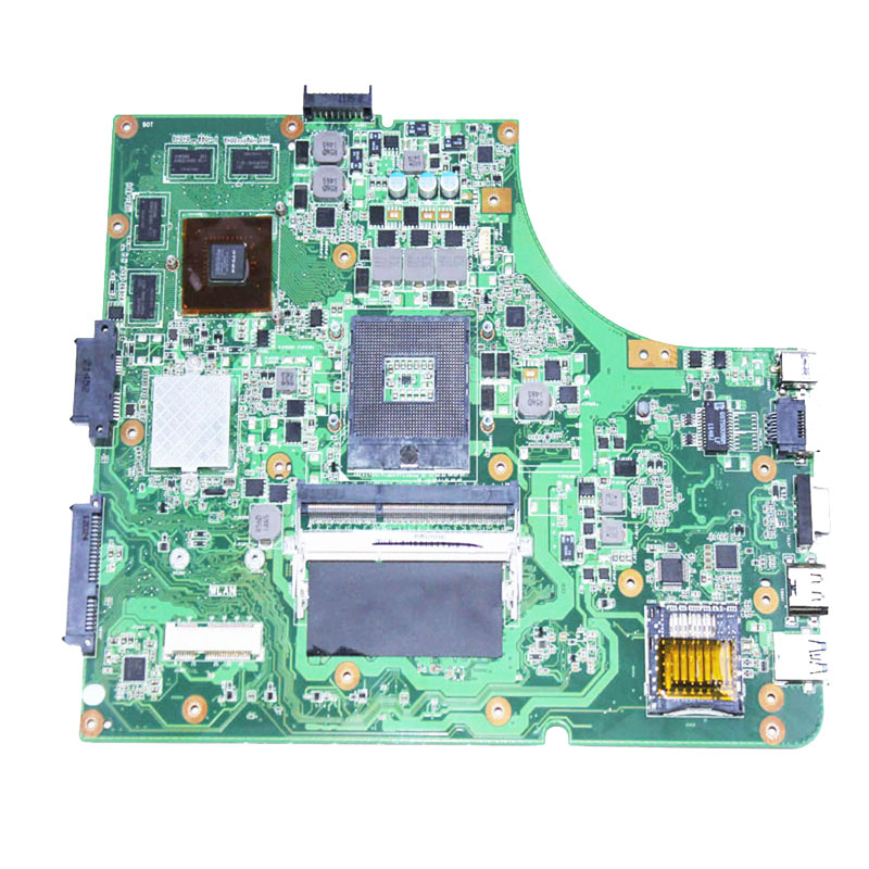 Free shipping fit for asus k53SV a53s X53S P53S K53SM 8 memory GT 540M motherboard mainboard notebook work perfect