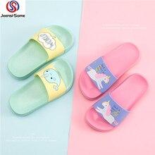 Kids Slipper Shoe Children Baby Shoes Swim Water Girls Sea Summer black red white pink green yellow spring 16-25