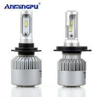 ANMINGPU 16000lm Headlight Bulbs H4 Led Bulb H8 H11 Fog Light CSP Led H7 Headlight Bulbs