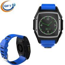 GFT GT68 Freies verschiffen! bluetooth tragbare geräte smartwatch für Android phone mit pulsmesser + schrittzähler + sleep tracker