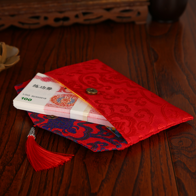1pcs Chinese Wedding Cloth Red Packets Gift Envelopes Money Bag In Bags Wring Supplies From Home Garden On Aliexpress Alibaba Group