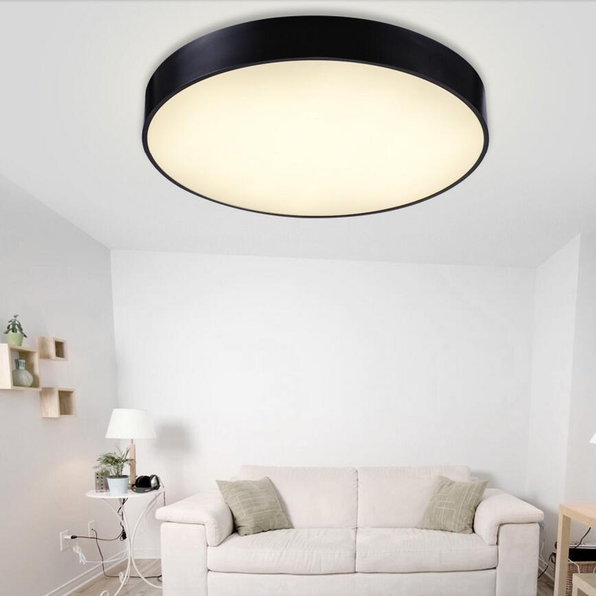 5cm/10cm Luminarias Para Teto Modern Led Ceiling Lamp Home Indoor ...