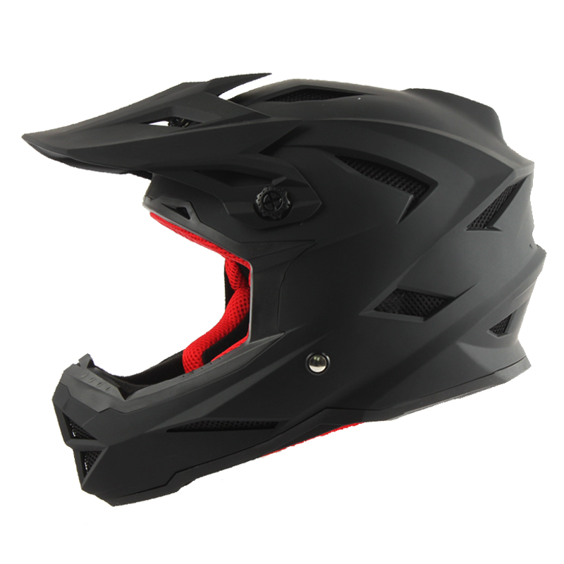 Фото THH t42 downhill helmet Motocross Racing Professional Off-Road Casque mtb casco brand motocross capacete full face dh helmet