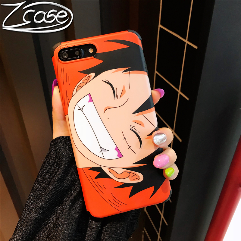 Cool anime Japanese One Piece Luffy fashion drop road fly Ace phone case for iPhone 6 6s 7 8 plus X XR XS MAX
