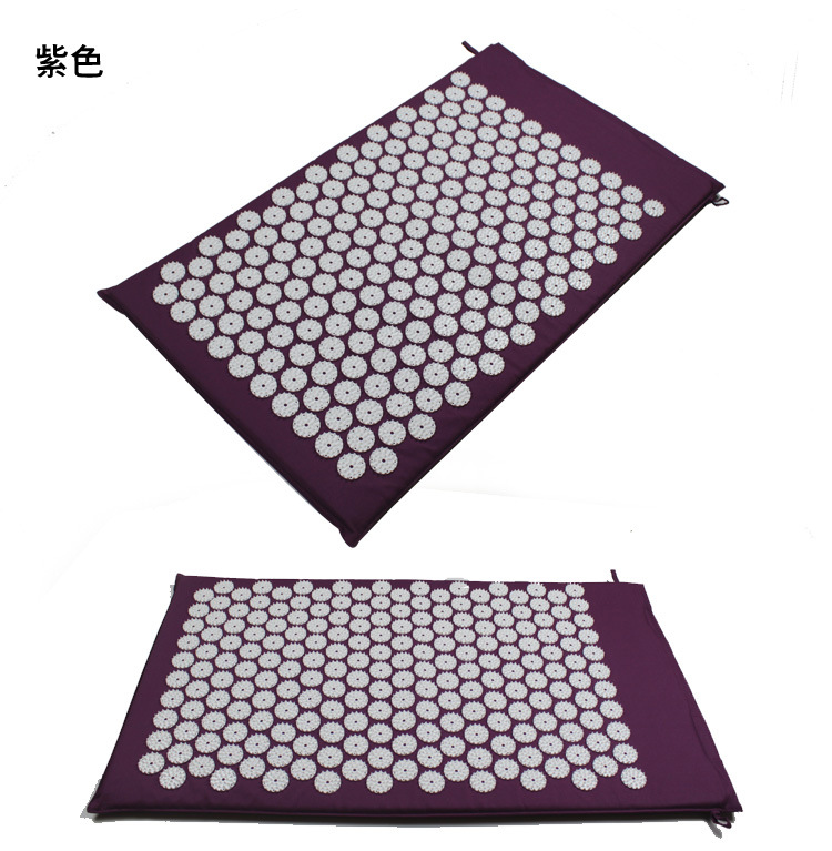 Massage Pillow and Massage Pad Body Head Foot Massager Cushion Acupressure Mat Relieve Stress Pain Acupuncture Spike Yoga Mat tapping massage cushion 3d new massager whole body massage chair mat for sale