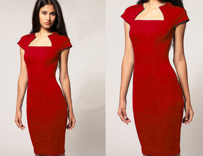 92ffd79e83 ebay AliExpress star burst models with new models in Europe and America  women s dresses wholesale fashion pencil dress-in Dresses from Women s  Clothing on ...