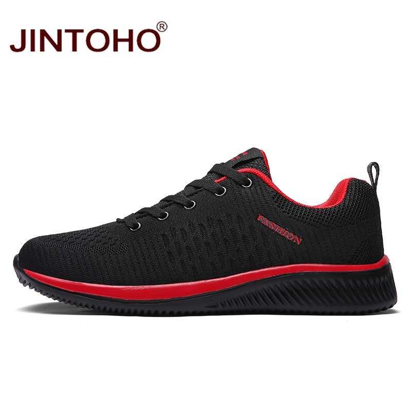 Jintoho Thương Hiệu Giày Vải Nam Thời Trang Cho Nam Giày Nam Giá Rẻ Giày Đen Giày Thoáng Khí 2019 Nam Giày Zapatillas Hombre