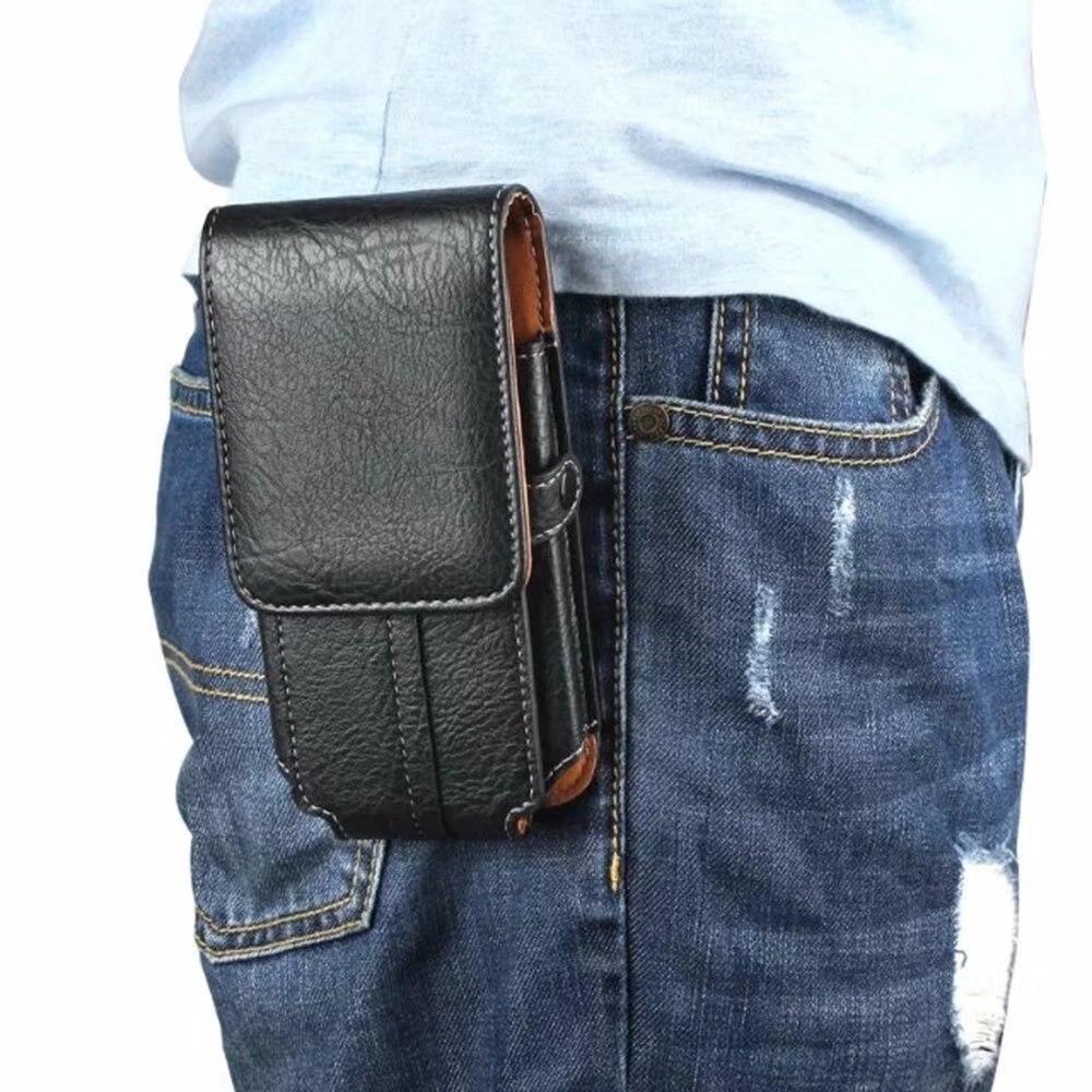 Купить Универсальный искусственная кожа Чехол ремня противоударный чехол для телефона Обложка сумка чехол для Alcatel мульти смартфон 5,1