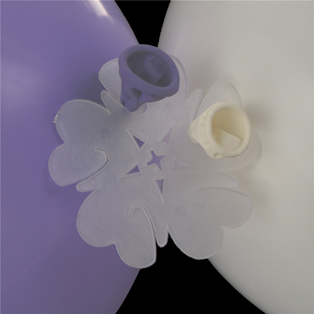 12pcs Cute Hydrogen Airballoon Clamp Folder Birthday Party Wedding