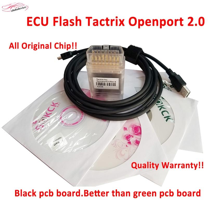 2018 New Tactrix Inc OpenPort 2 0 ECUFLASH Auto ECU Chip Tuning Tool Works Techstram JLR