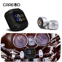 CAREUD Wireless Motorcycle TPMS Tire Pressure Monitoring System Tyre Pressure Sensor TPMS Motorcycle Sensor Tool Original M3