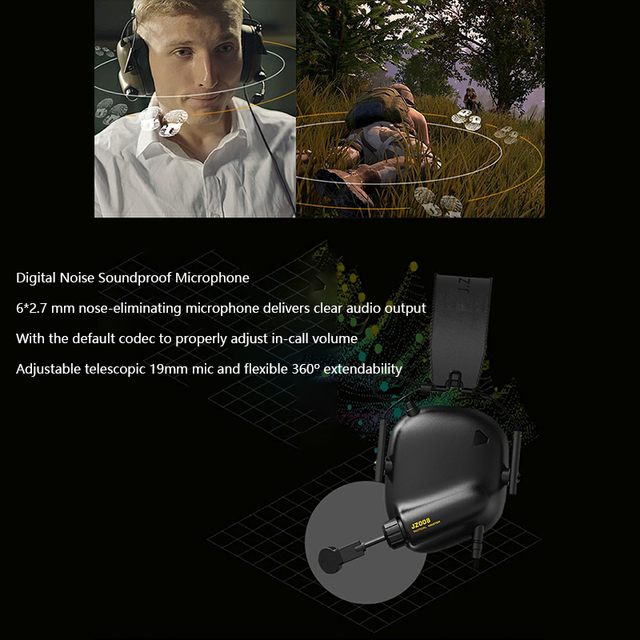 Game Headset Tactical Master - 008 Immersive Gaming Headset with Virtual 7.1 Surround Sound Game Headphones for PC PS4 Earphone 6