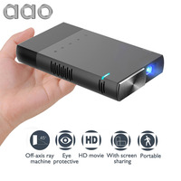 New S1 Portable Mini HD Projector DLP Sync Wired Display For 1080P Home Theater With HDMI