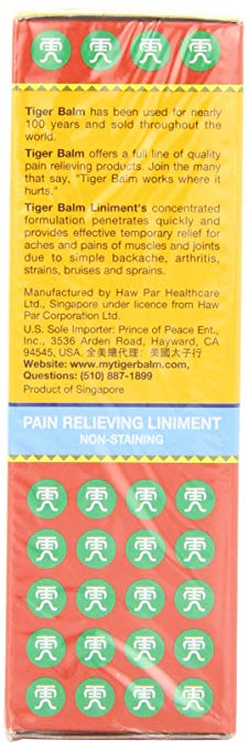 Image 2 - 2pcs* Tiger Balm Liniment  28 ml,  Liquid Herbal Relief from Muscle and Joint Pain    -