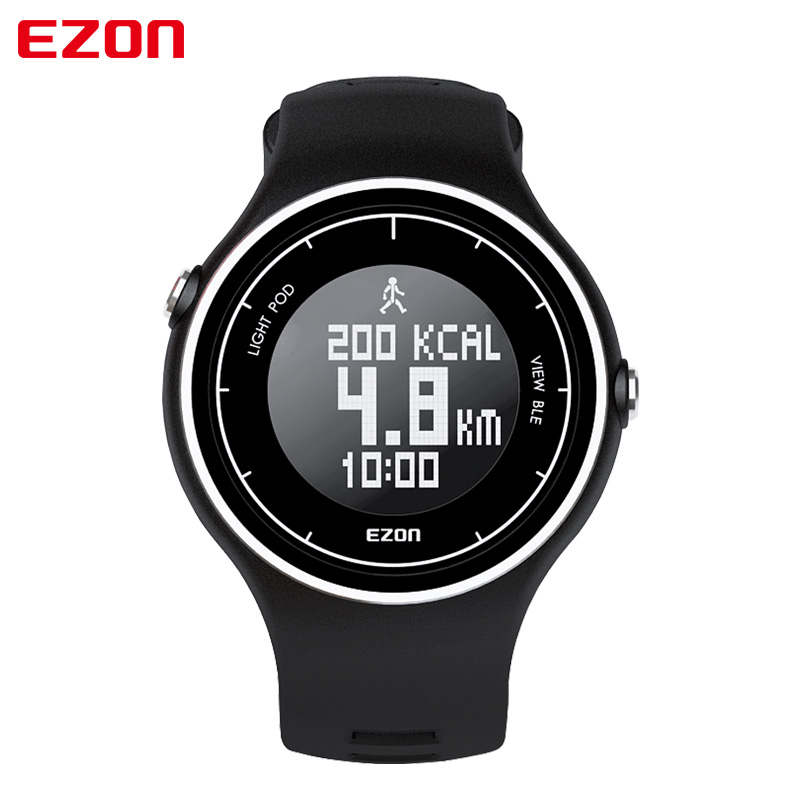 New Men's Multi-Function Waterproof Smart Sports Running Watch F1 With  Call Reminder Calorie Pedometer Android Or IOS Bluetooth men s multi function waterproof smart sports running watch s2 with pedometer pair with android 4 3 ios6 0 or higher bluetooth